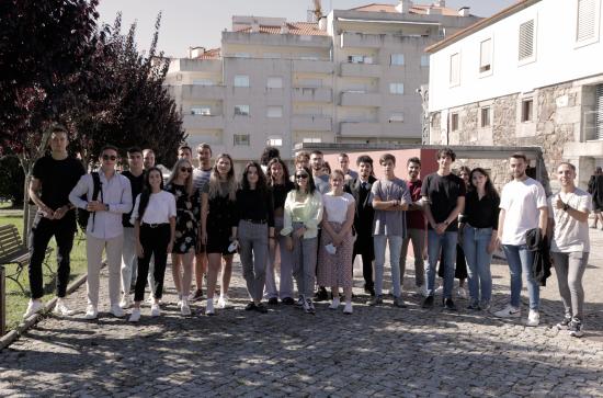Receção aos estudantes em Erasmus