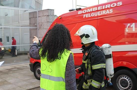Simulacro de Emergência na ESTG