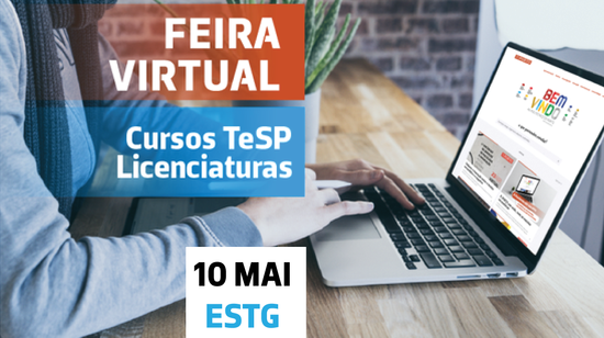A ESTG na Feira Virtual do P.PORTO