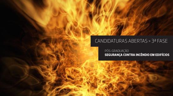 Acesso à Pós-Graduação de Segurança Contra Incêndio em Edifícios – 3ª fase