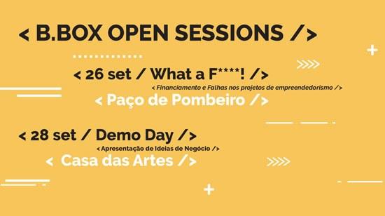 B.BOX arranca este domingo, com sessões abertas ao público