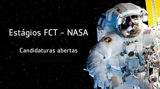 Candidaturas abertas a estágios na NASA