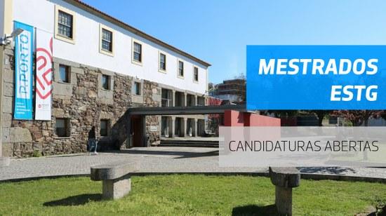 Candidaturas abertas aos Mestrados da ESTG 2020/2021