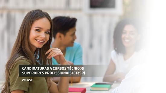 Candidaturas aos Cursos Técnicos Superiores Profissionais
