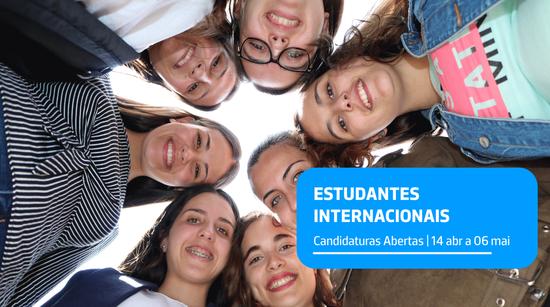 Candidaturas | Estudantes Internacionais – 2ª fase