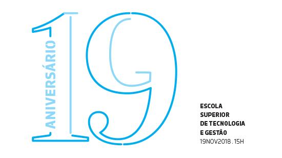 Convite à celebração do 19º aniversário da ESTG