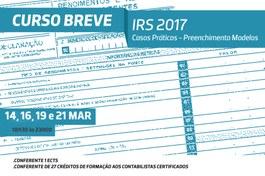 NOVAS DATAS | IRS 2017 - Casos Práticos -  Preenchimento Modelos