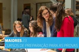 CURSOS DE PREPARAÇÃO | PROVAS MAIORES 23 - Edição 2019/2020