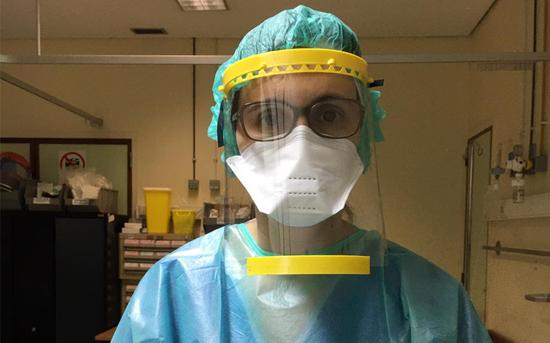 ESTG colabora na produção de viseiras de proteção para os hospitais