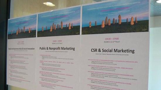 "ESTG participa no IX International Congress on Teaching Cases related to Public and Nonprofit Marketing sobre o tema ""Marketing utópico / Utopian Marketing"""