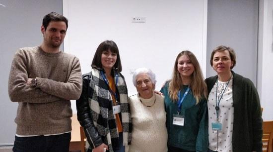 Estudantes da ESTG adotaram uma avó