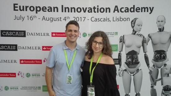 Estudantes da ESTG estão presentes na European Innovation Academy