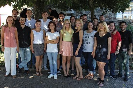 Estudantes internacionais recebidos na ESTG