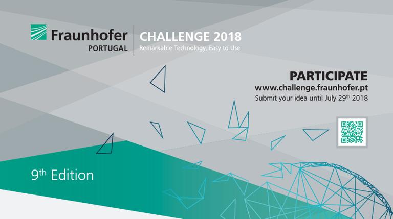 Resultado de imagem para fraunhofer challenge 2018