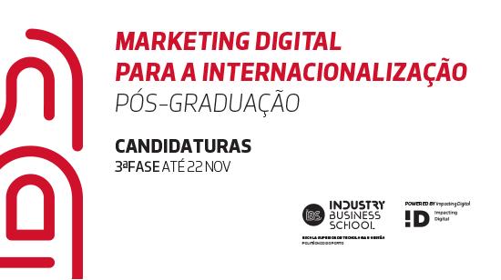 IBS | Acesso à Pós-Graduação em Marketing Digital para a Internacionalização
