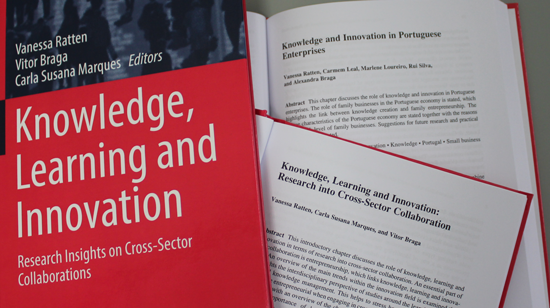 "Investigador do CIICESI edita o livro ""Knowledge, Learning and Innovation"""