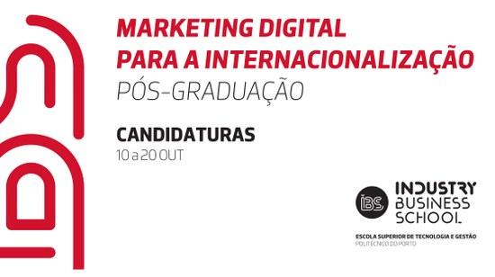 Pós-Graduação | Marketing Digital para a Internacionalização