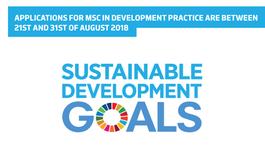 Sessão de divulgação do Mestrado em Práticas do Desenvolvimento (Master Development Practice)